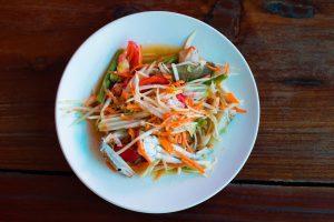 Somtum or Papaya Salad