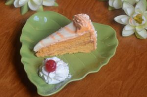 Florida orange sunshine cake