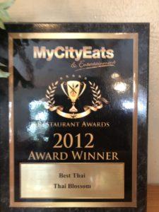 My City Eats & Entertainment - Best Thai 2012