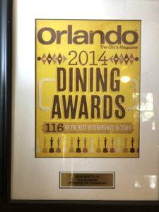 Orlando The City's Magazine - Best Thai Restaurant 2014