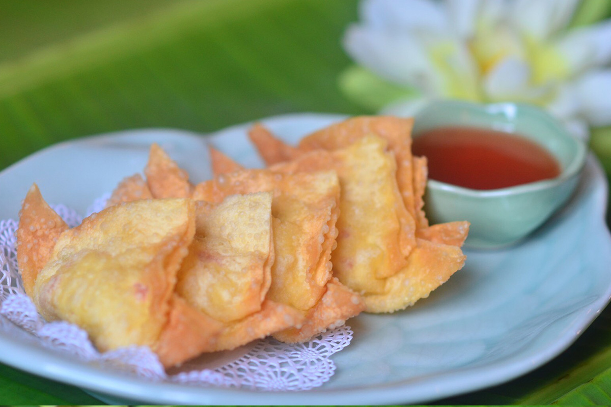 Deep Fried Krab Rangoon